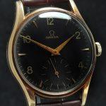a2532 omega gold patina black dial (8)