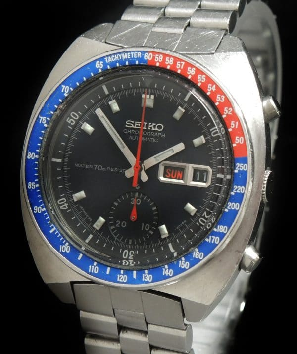 All Original Seiko Pepsi Chronograph Automatic 6139