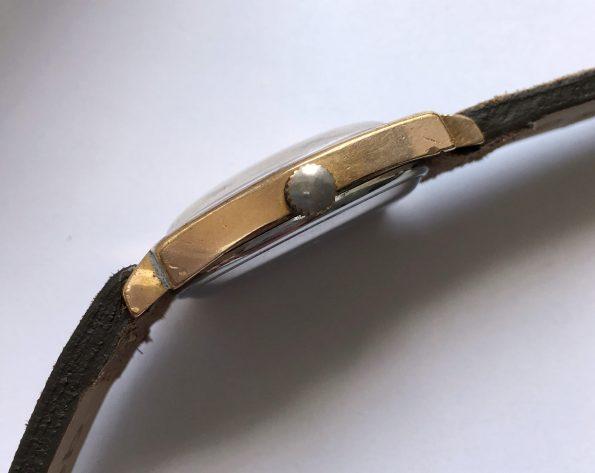 Gold Plated 1970s Glashütte Spezimatik