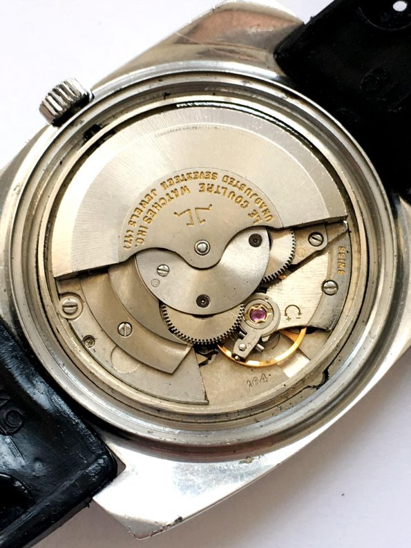 Jaeger LeCoultre Master Mariner Linen Onyx Dial Day Date
