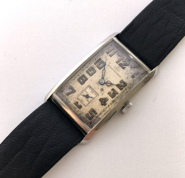 Rare IWC Bauhaus Art Deco From the 1930s