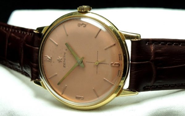 1950s Solid Gold Zenith Ladies
