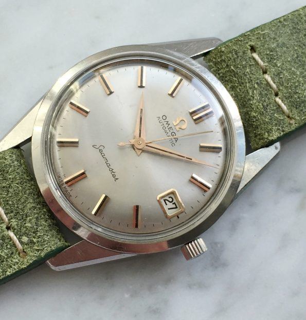 Rare Omega Seamaster Automatic Steel Date Serviced