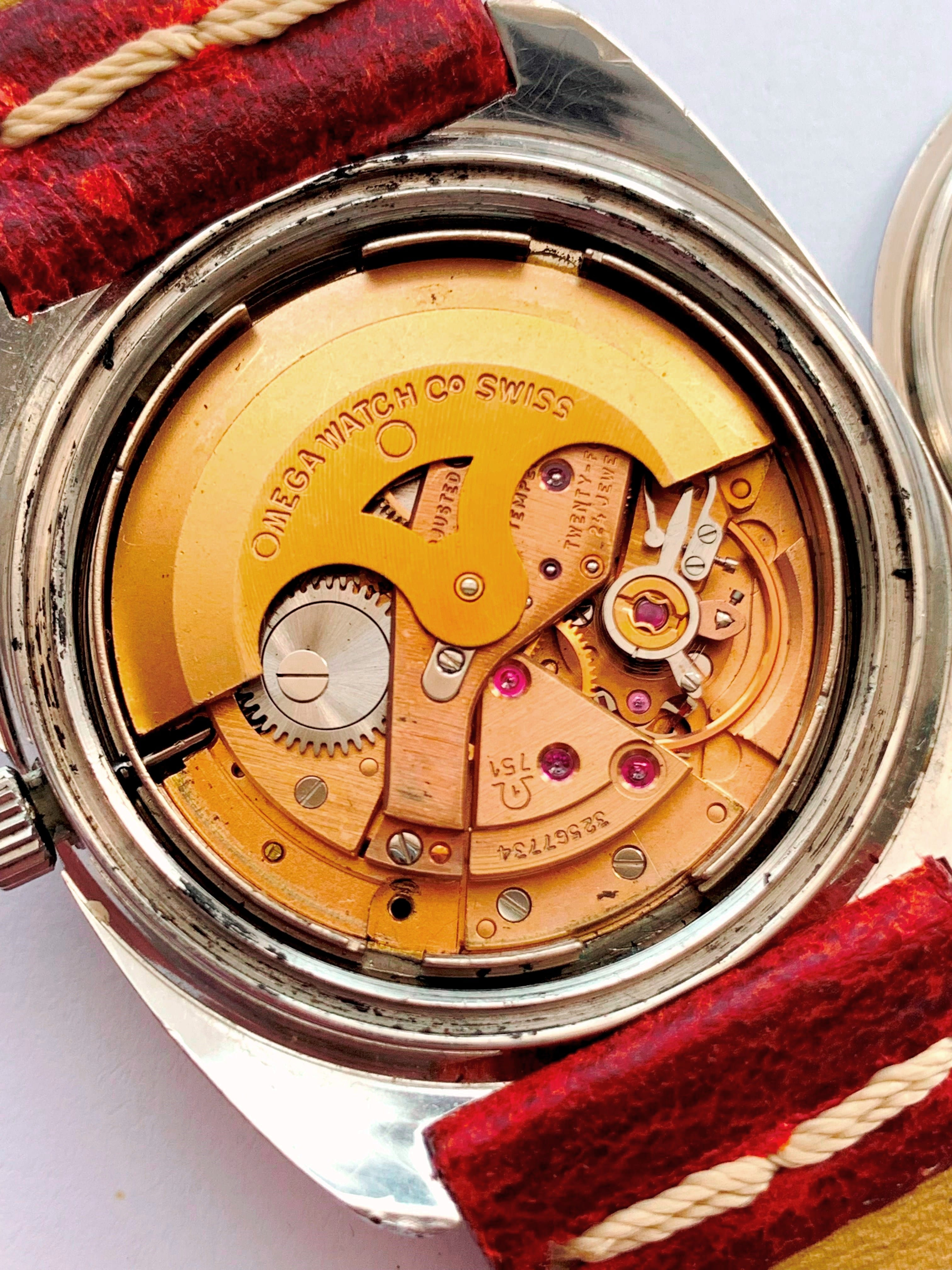 Vintage Omega Seamaster Day Date Automatic Chronometer RARE
