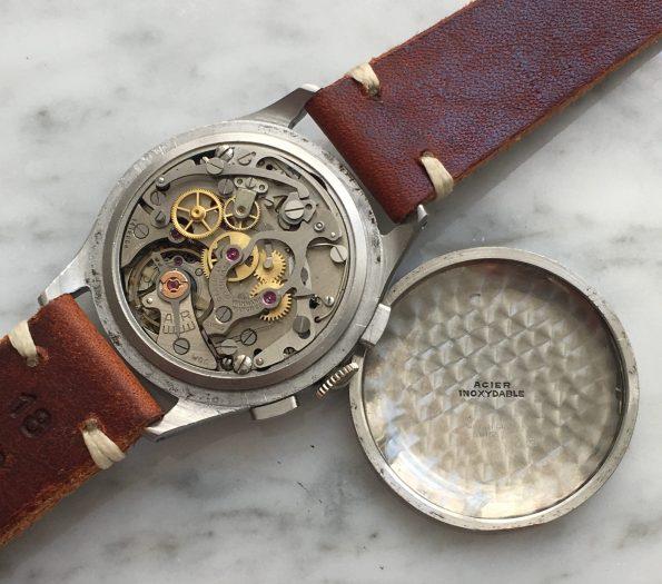 Servicierter Wakmann Chronograph Two Tone Dial