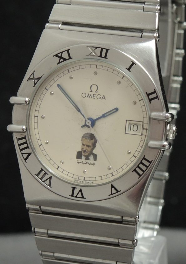 Omega Constellation Quarz mit Al-Assad Ziffernblatt