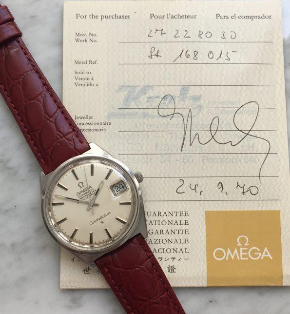Vintage Omega Constellation Full Set