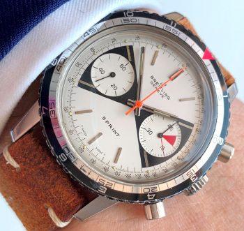[:en]Breitling Sprint Rare Zorro Dial Chronograph[:de]Breitling Sprint Seltenes Zorro Ziffernblatt Chronograph[:]