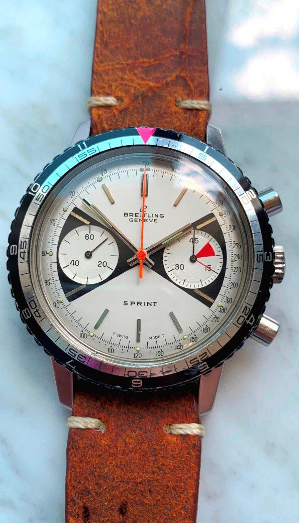Breitling Sprint Rare Zorro Dial Chronograph