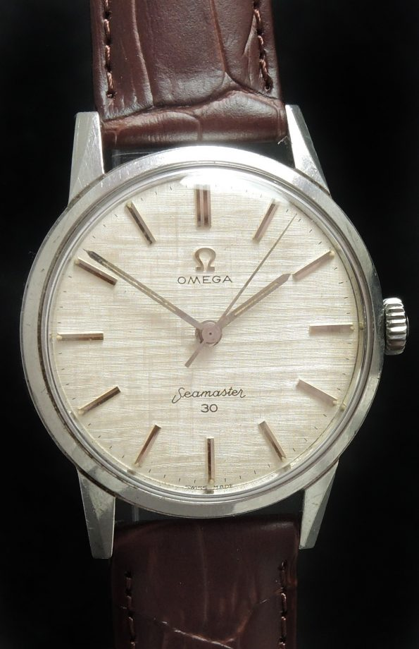 Omega Seamaster 30 Handwinding Linen Dial