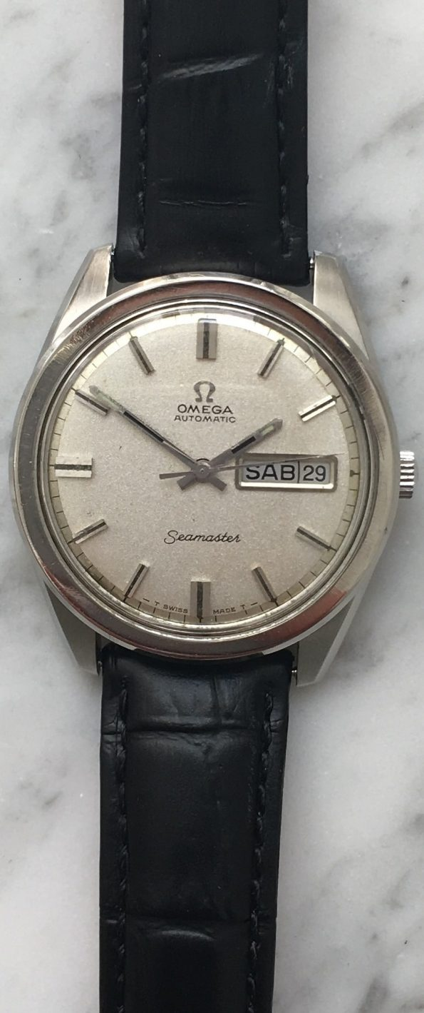 Vintage Omega 36mm Seamaster Automatic Calatrava Day Date