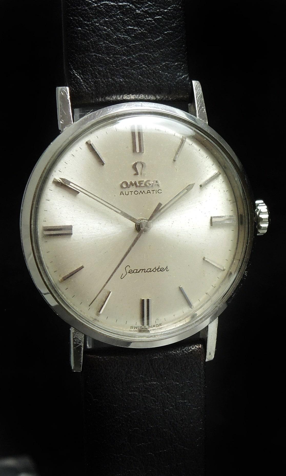 Vintage Omega Pre Seamaster De Ville Automatic