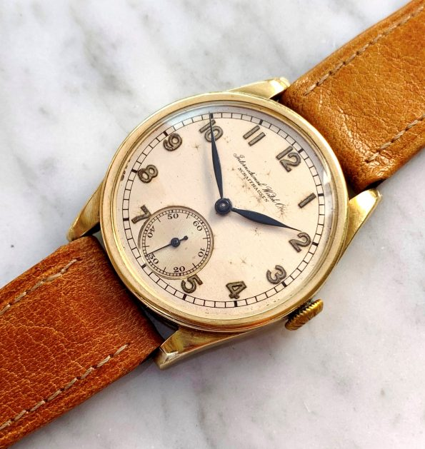 IWC Cal 83 Solid Yellow Gold Calatrava Lady Damen from 1930