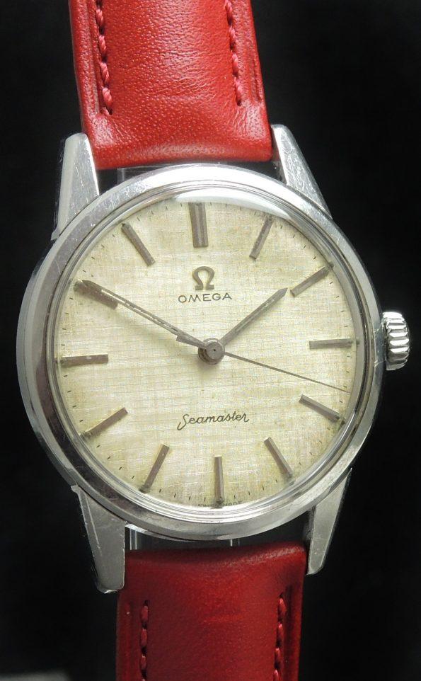 Vintage Omega Seamaster Handwinding Linen Dial