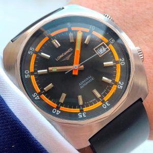 [:en]Vintage Longines Automatic Admiral Diver 1970ties[:de]Vintage Longines Automatic Admiral Diver 1970er[:]