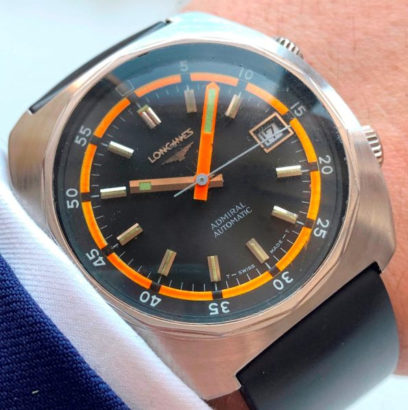 Vintage Longines Automatic Admiral Diver 1970ties
