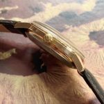 Vintage Rose Gold Plated Omega Seamster Automatic Calatrava Date