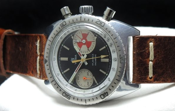 Yema Yachting Chronograph Tides watch Yachtinggraph Vintage