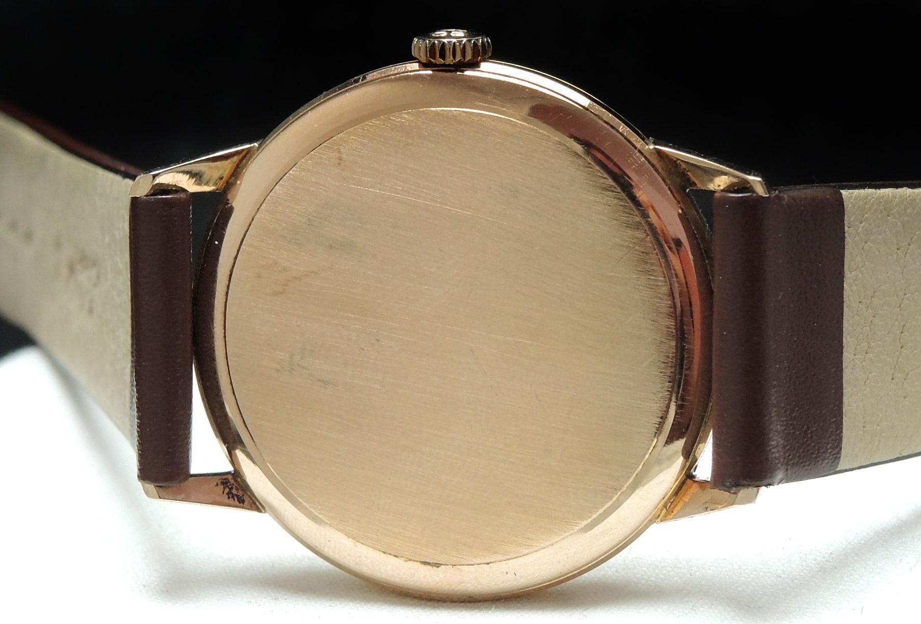 Handwinding Vintage Omega Cal 69 Solid Rose Gold