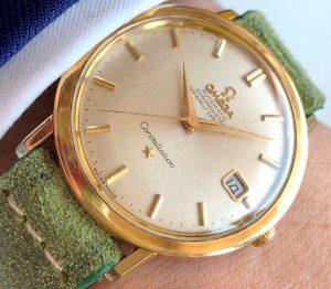 [:en]Vintage Omega Constellation Calatrava Gold Plated[:de]Vintage Omega Constellation Calatrava Vergoldet[:]