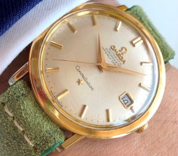 [:en]Vintage Omega Constellation Calatrava Gold Plated[:de]Vintage Omega Constellation Calatrava Vergoldet[:]