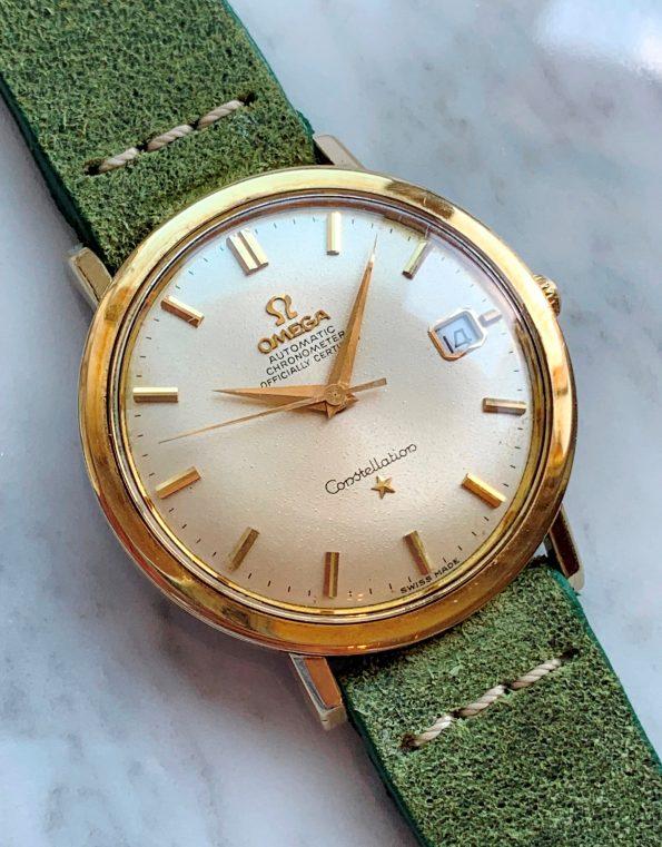 Vintage Omega Constellation Calatrava Gold Plated