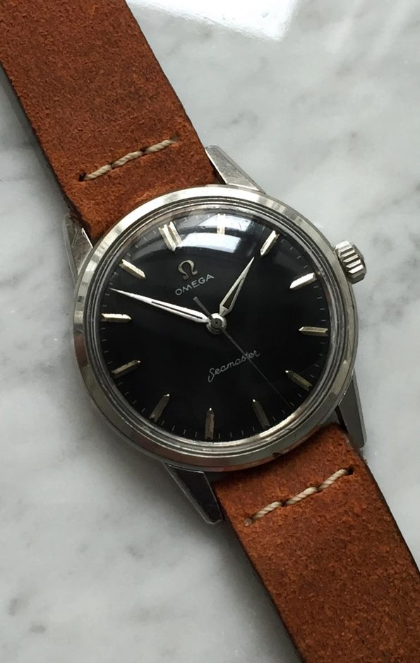 Vintage Omega Seamaster Refurbished Black Dial