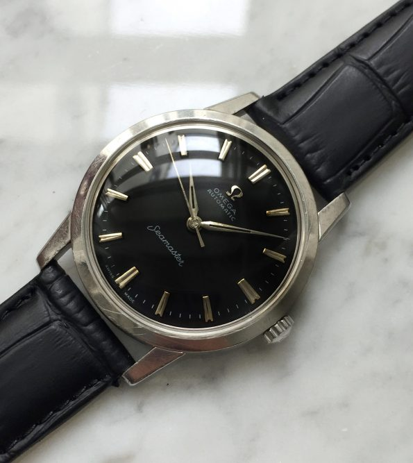 Vintage Omega Seamaster Automatic Refurbished Black Dial