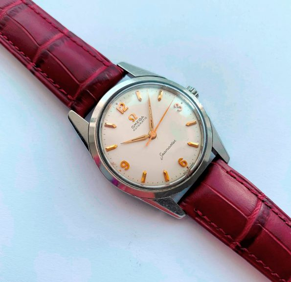 Serviced Omega Seamaster Automatic Explorer Dial