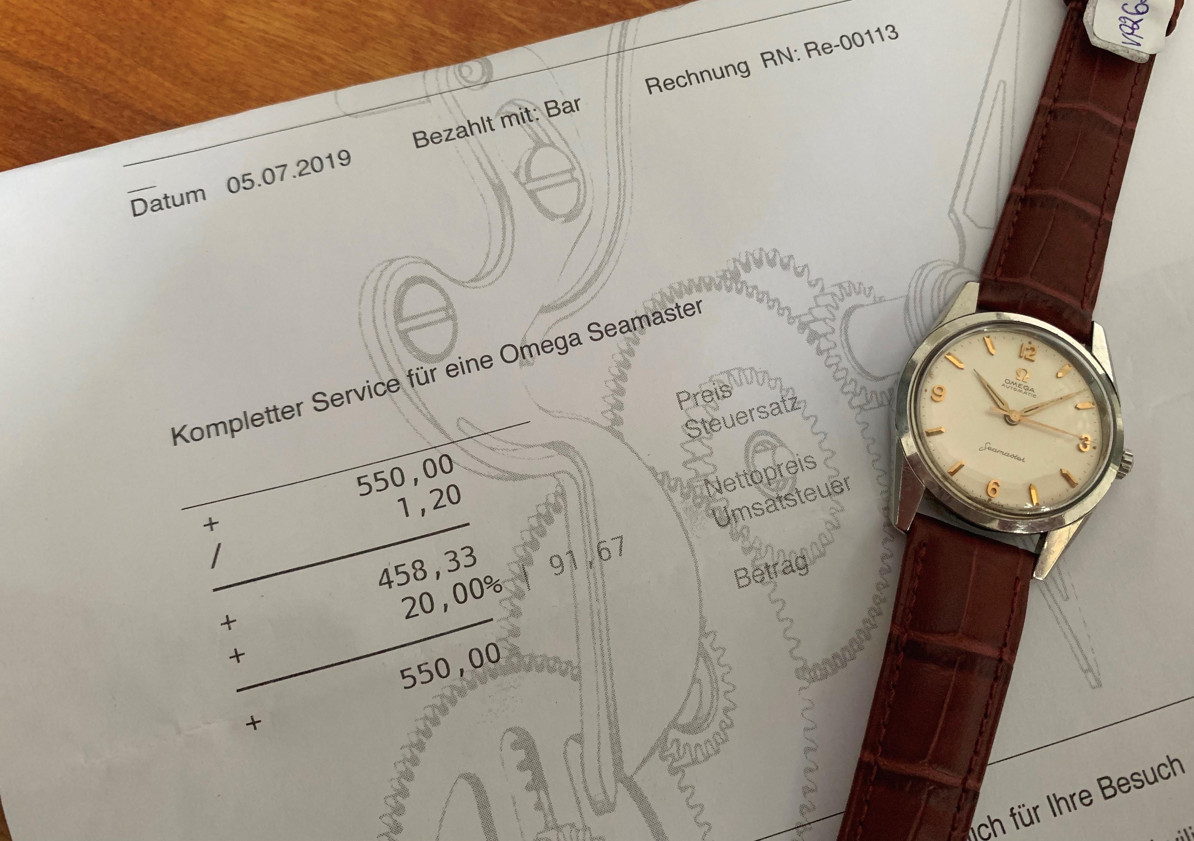 Serviced Omega Seamaster Automatic Explorer Dial