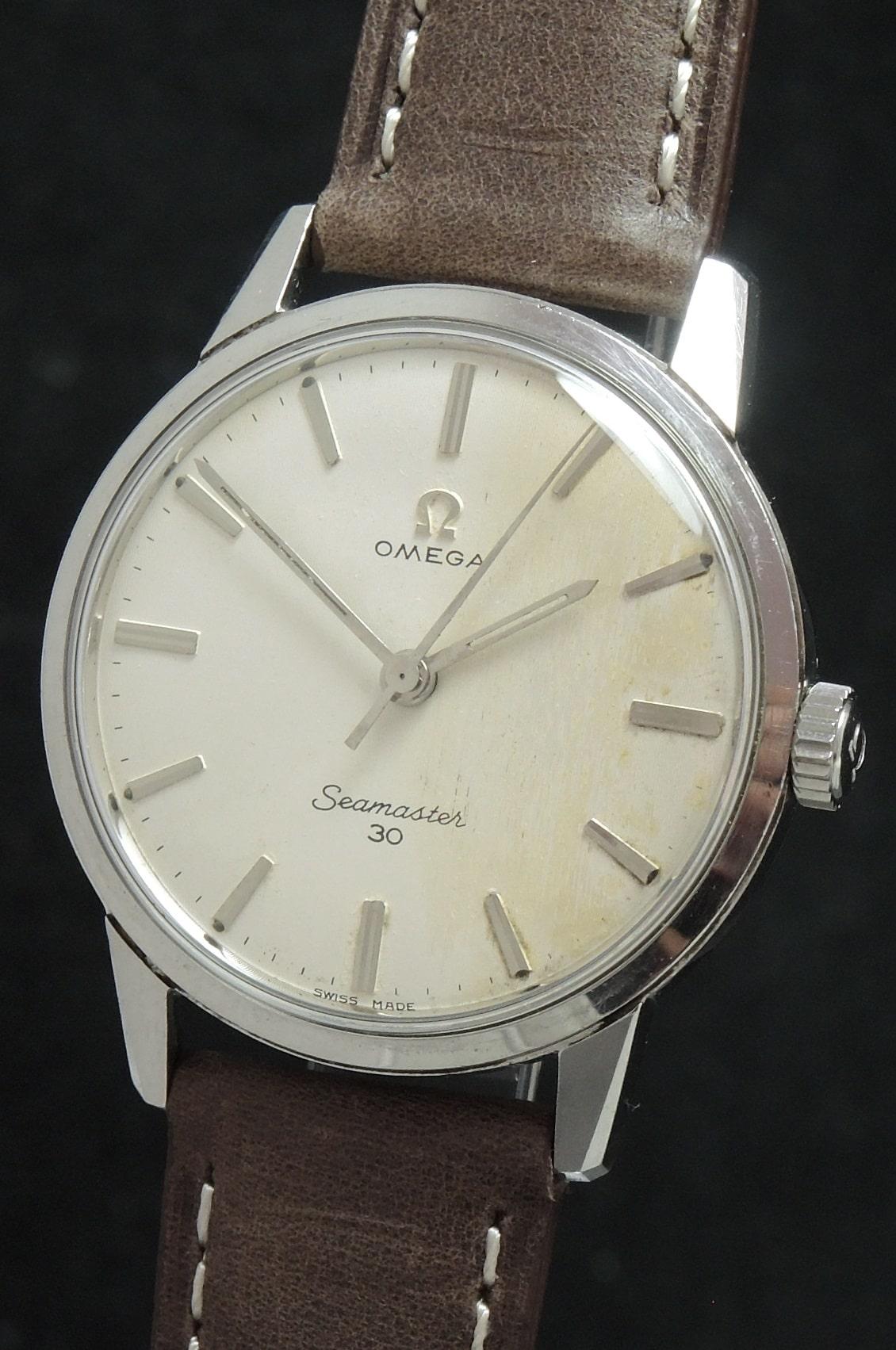 Vintage Omega Seamaster 30 Linen Dial