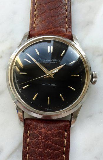 [:en]Fully Restored IWC Vintage Black Dial Automatic[:de]Vintage IWC Schwarzes Ziffernblatt Automatik Restauriert[:]