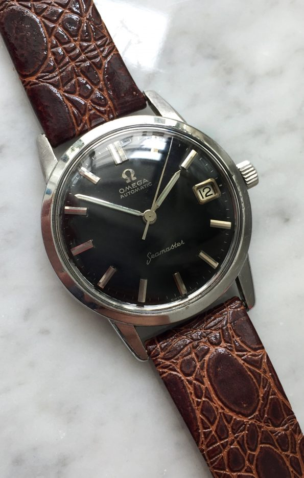 Unpolished Omega Seamaster UNRESTORED Black dial Automatic