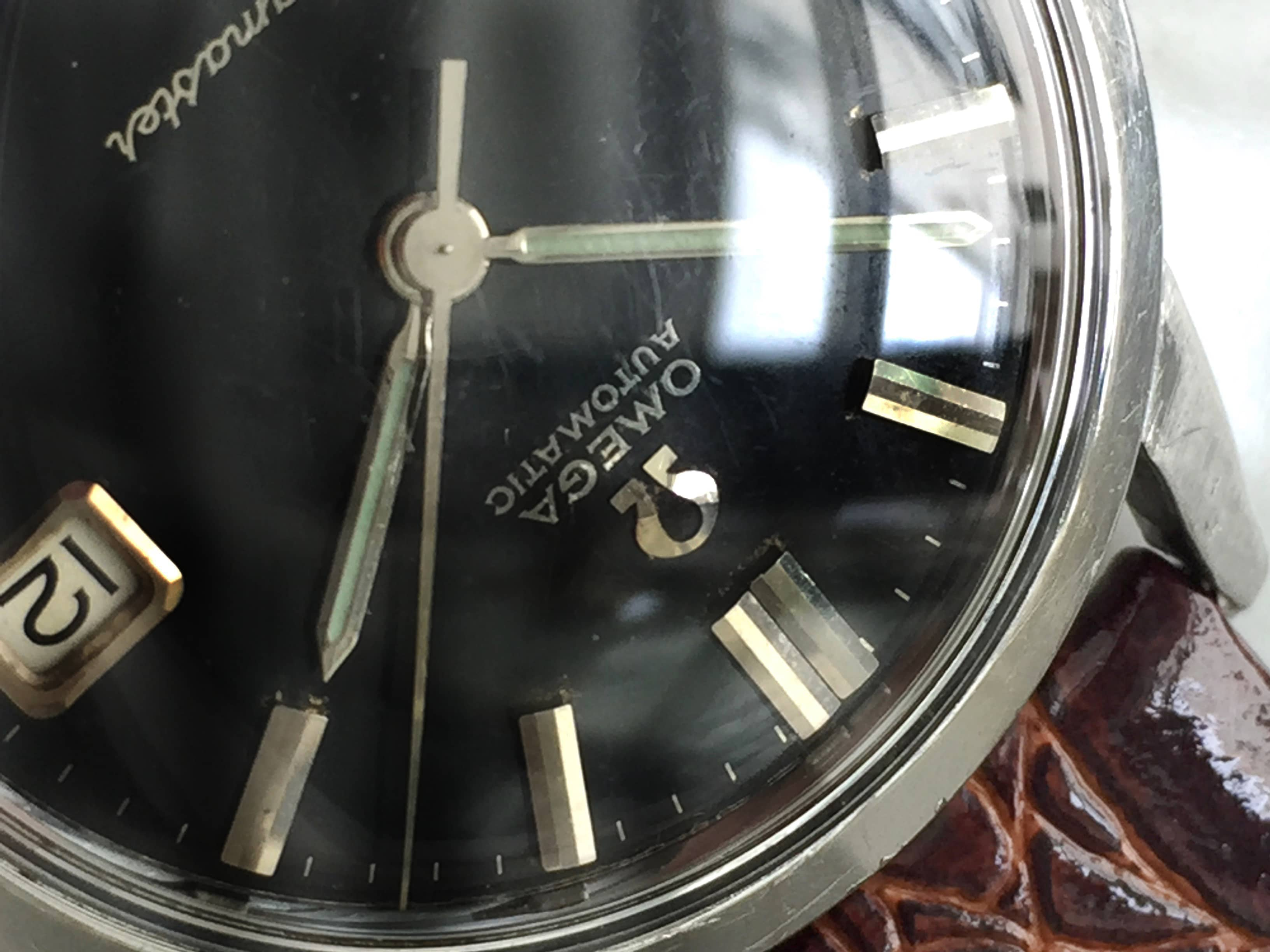 Unpolished Omega Seamaster UNRESTORED Black dial Automatic