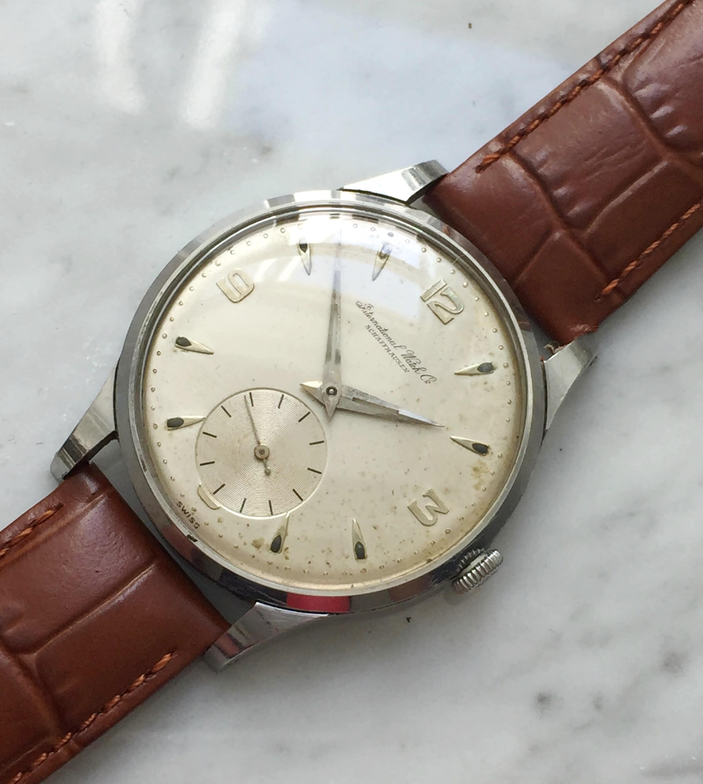 Refurbished Vintage IWC Small Seconds Caliber 88