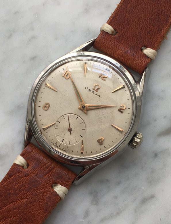 Beautiful 36mm Vintage Omega Stainless Steel