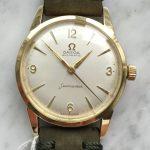 a2665 omega seamaster vergoldet gruen (5)