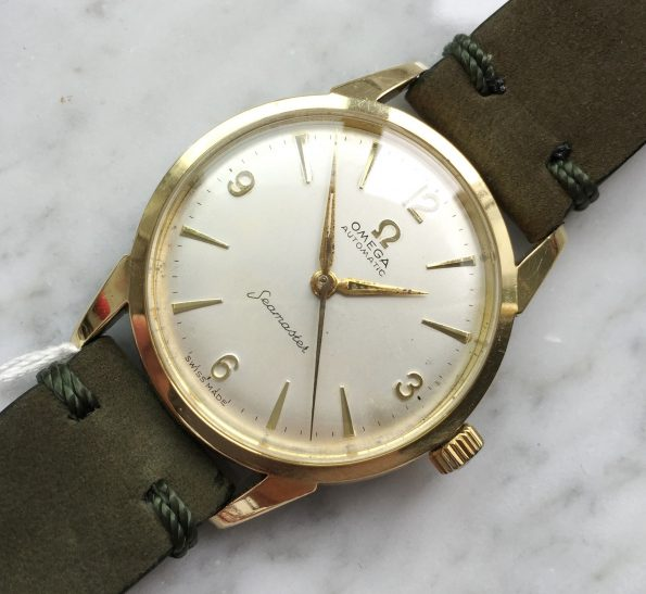 Beautiful Omega Seamaster Automatic Vintage gold plated