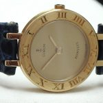 Corum Lady Damen Gold Romulus Quartz Quarz