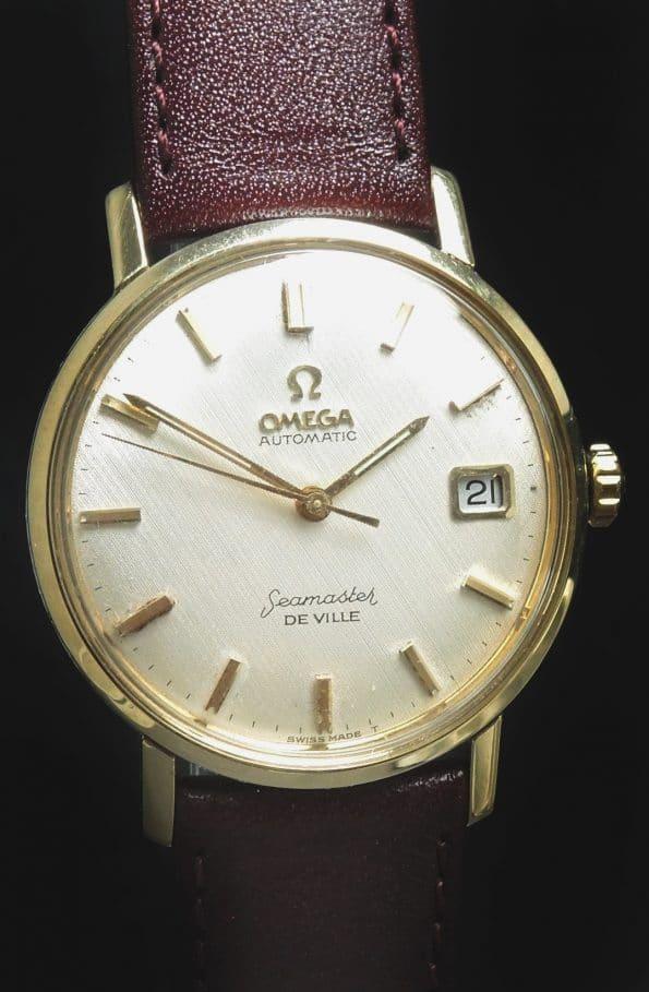 Perfect Omega Seamaster De Ville Automatic Vintage LINEN DIAL