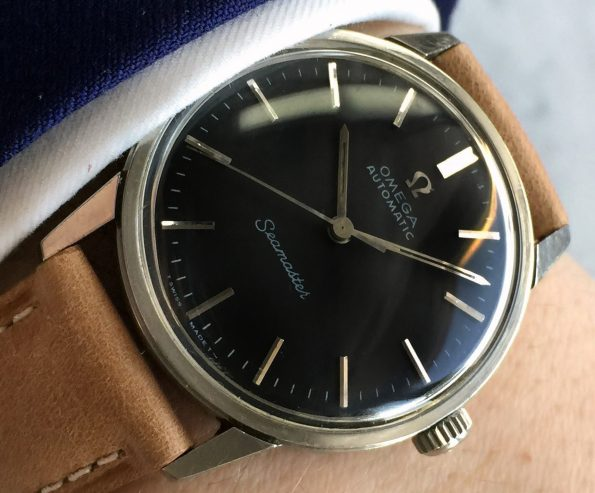 Omega Seamaster Fully Restored Automatic black dial