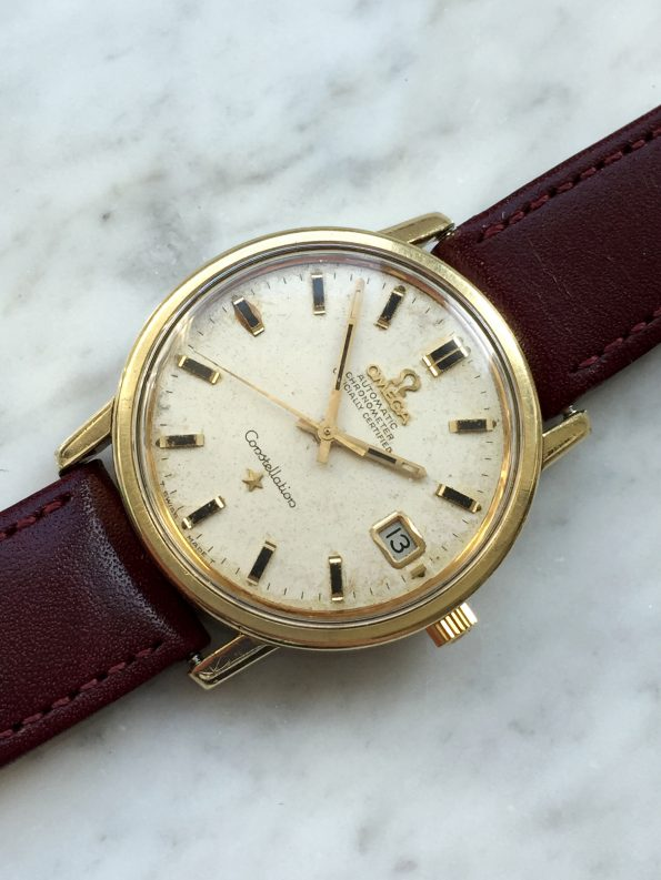 Great Vintage Omega Constellation Gold Plated
