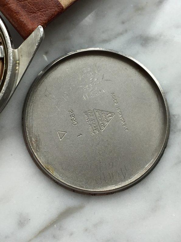 Vintage Omega Ranchero Unrestored Cream Dial Broad Arrow Hand