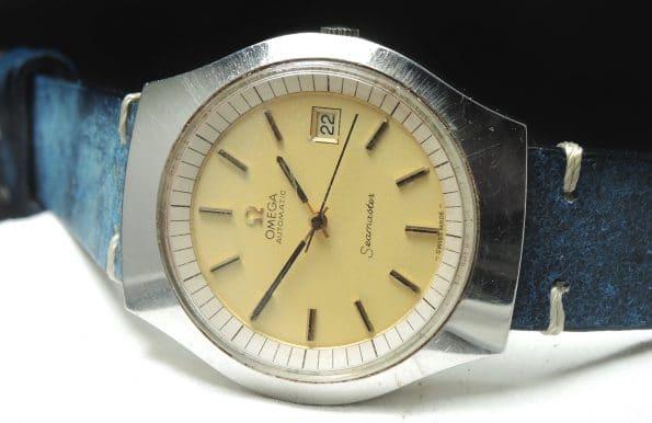 "1970ties rare Omega Seamaster ""Jedi"" Cream Dialed"