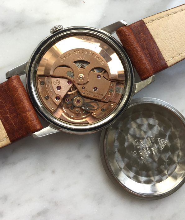 Rare Omega Seamaster Automatic Vintage with CHOCOLATE DIAL