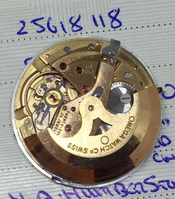 SOLID GOLD Omega Seamaster De Ville Automatic Vintage FULL SET