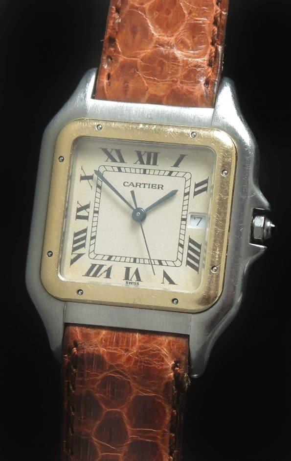 Cartier Panthere ref 183957 Steel Gold Quartz