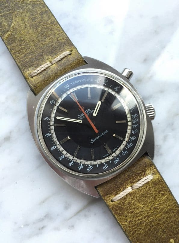 Interesting Omega Seamaster Chronostop Vintage