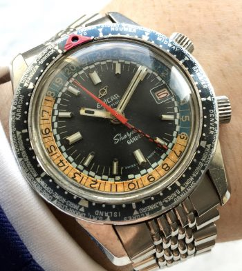 [:en]Serviced Enicar Sherpa Diver Guide GMT Top Condition[:de]Servicierte Enicar Sherpa Diver Guide GMT Automatik in tollem Zustand[:]