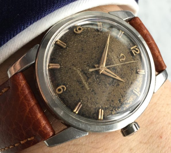 Beautiful Omega Seamaster Automatic Vintage Chocolate Dial
